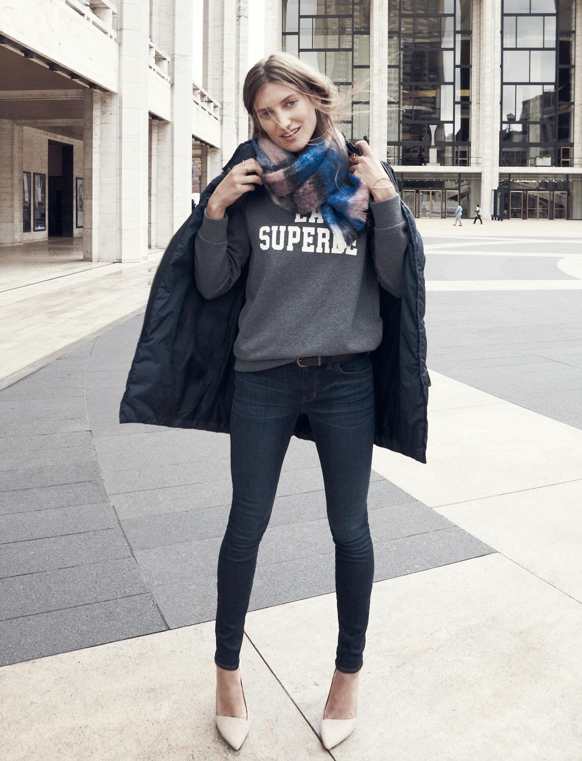 Madewell et Sézane: La Superbe sweatshirt #madewellxsezane...