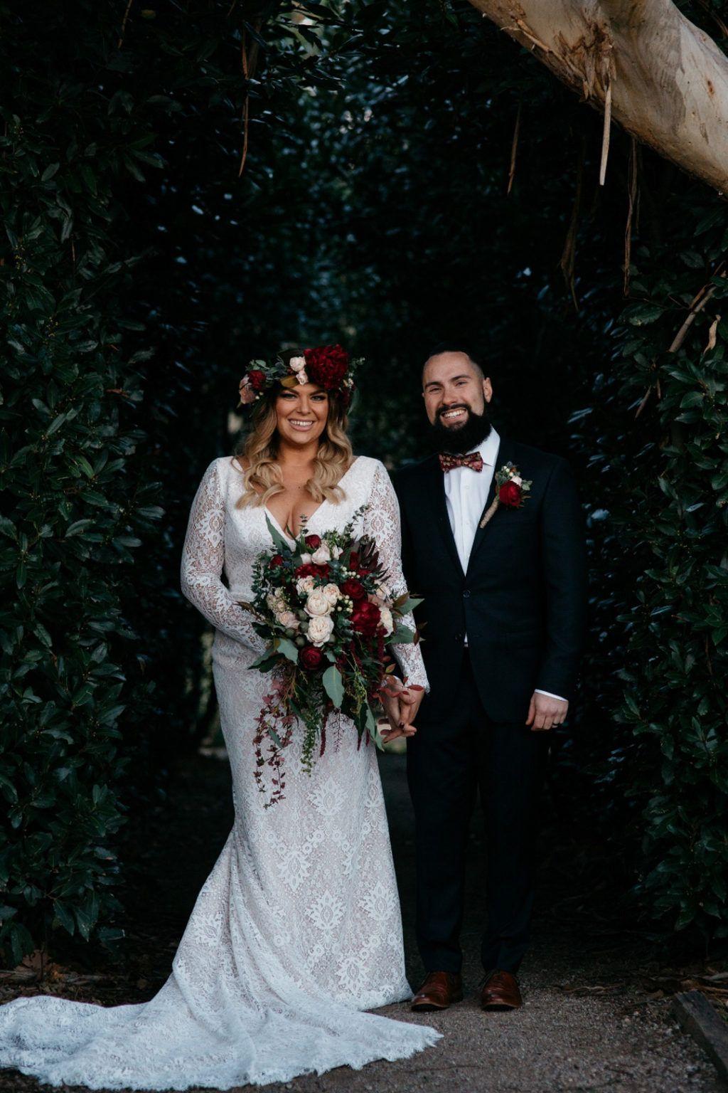 Bold Boho Glamour In Melbourne Kristie And Daniel Onefabday Com Wedding Dresses Wedding Bride