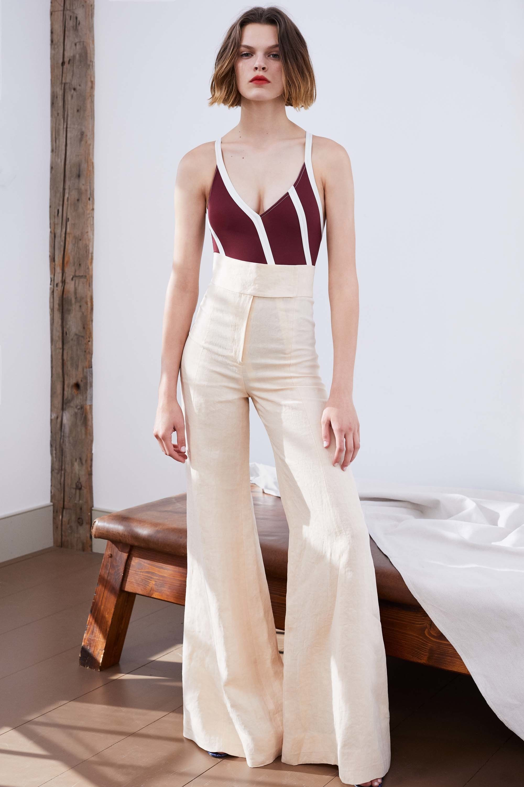 315431aed2b Hazel Super High Waist Pant by Jill Stuart. Jill Stuart Resort 2018  Collection Photos - Vogue
