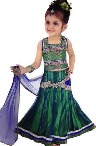 Indian Party Wear Dresses For Little Girls | Indian party wear ...