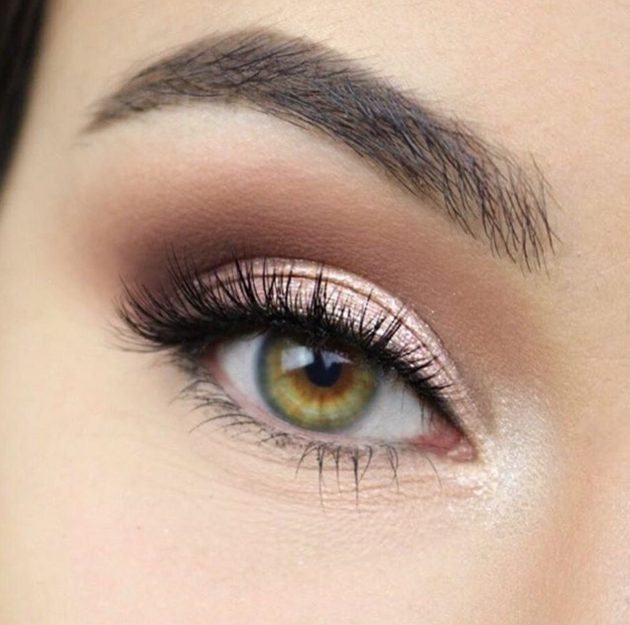 pinterest // ♕ l a y l a ♕ | hazel eye makeup, makeup for
