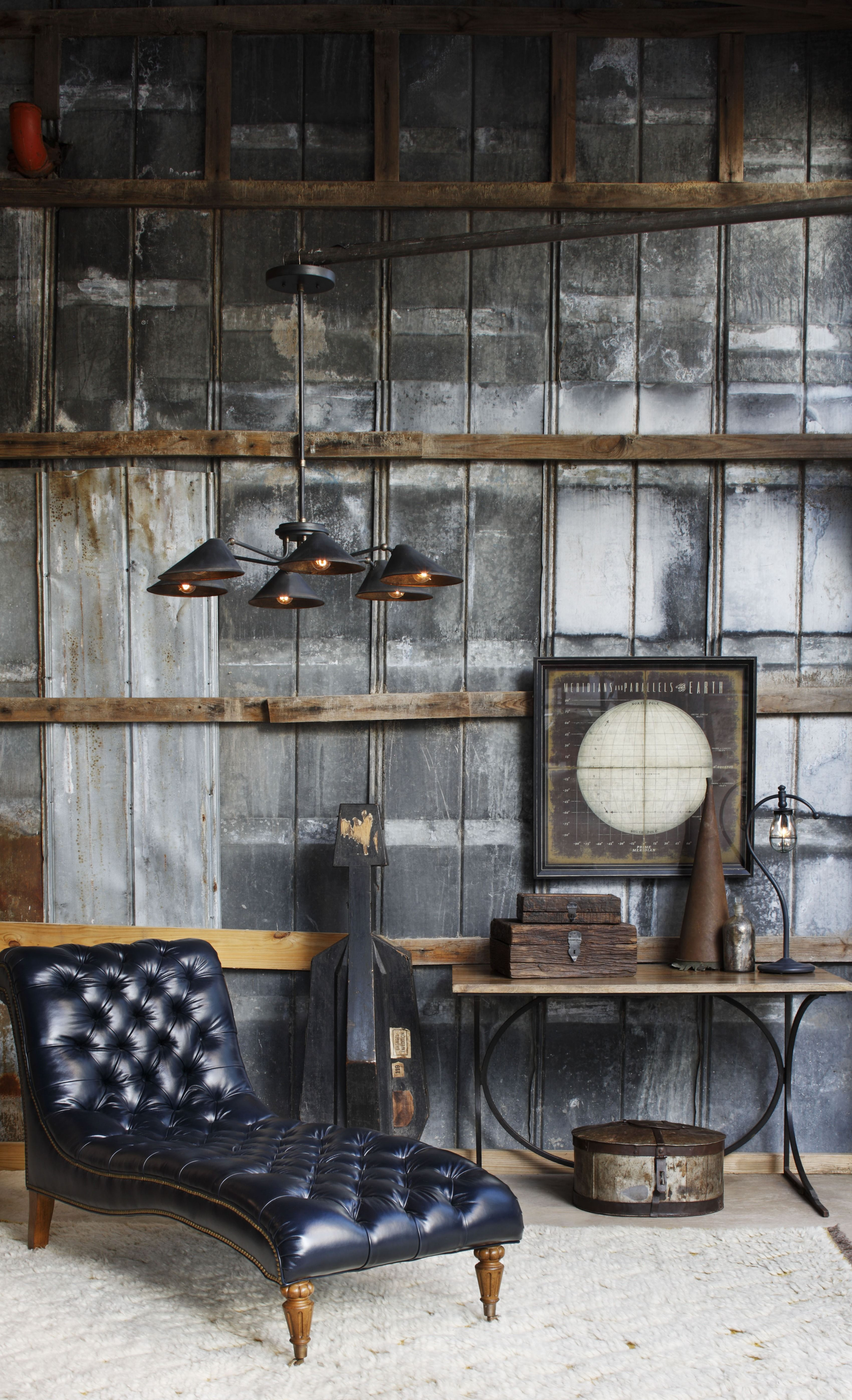 Fainlight Chandelier By Currey And Company 9308 Cc Rustic Industrial Living Room Industrial Livingroom Vintage Industrial Decor