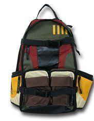 Star Wars Boba Fett Mandalorian Armor Men/'s Casual Travel Bag Backpack backpack