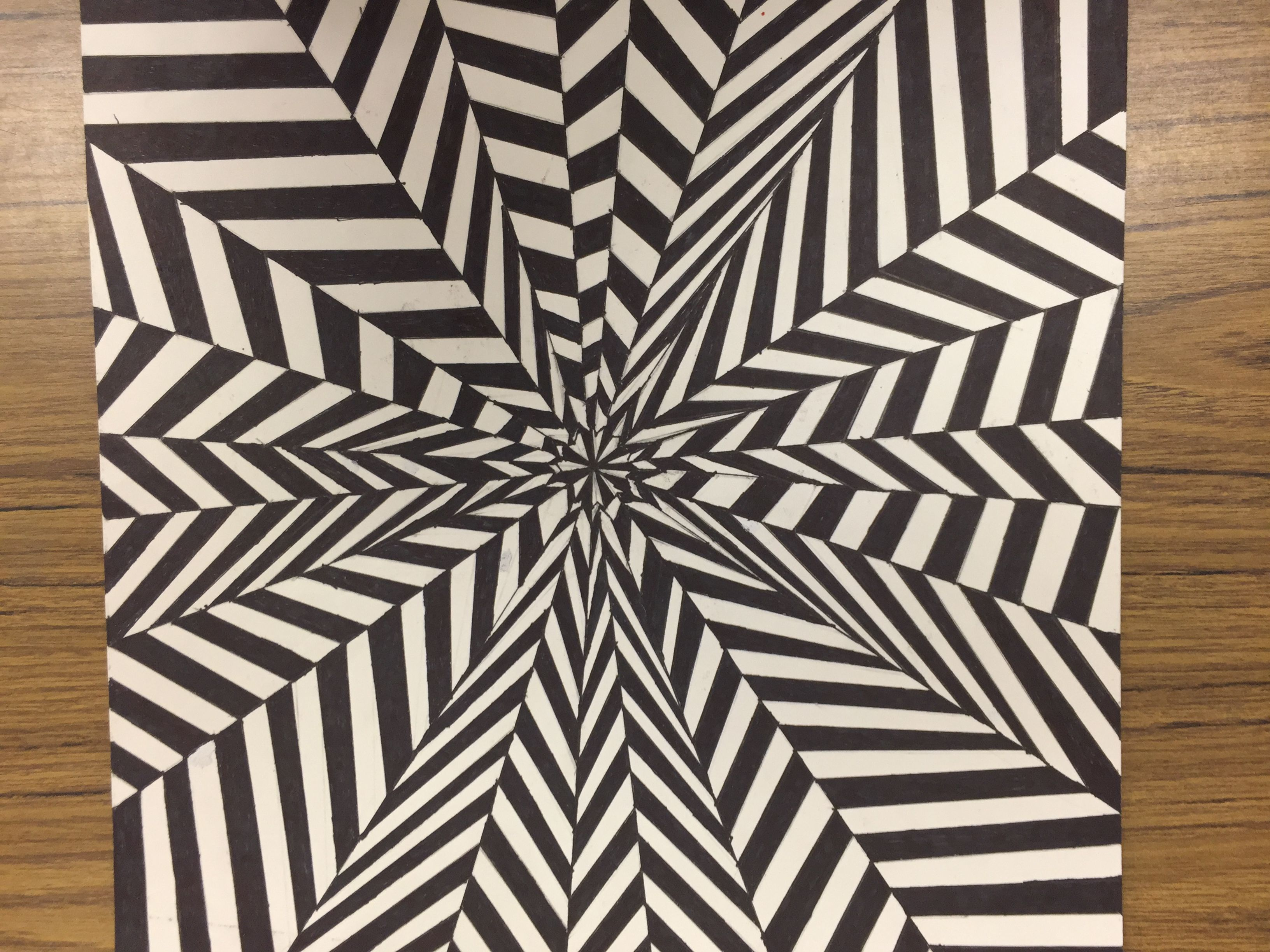 How To Draw An Optical Illusion 2019 2020 Op Art Lessons