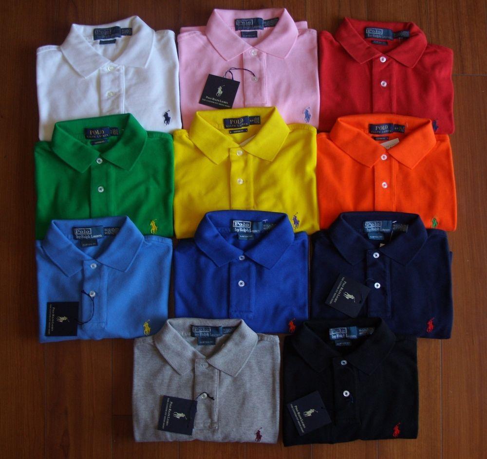 New men polo ralph lauren mesh polo shirt custom fit size s m l new men polo ralph lauren mesh polo shirt custom fit size s m l xl 2xl fandeluxe Image collections