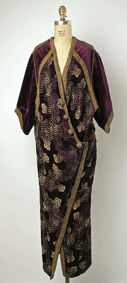 Evening Wrap, 1912-14 - designer unknown