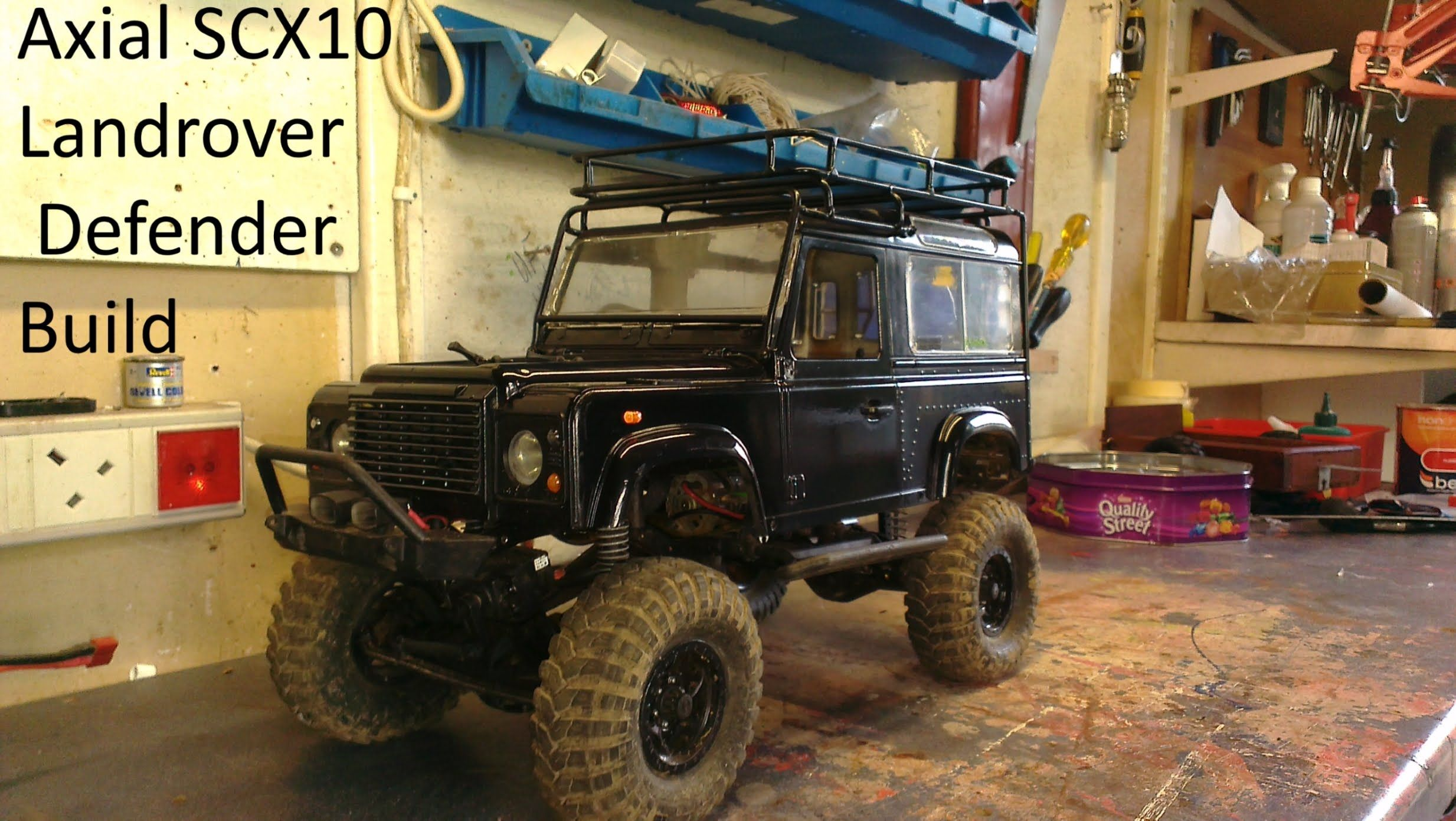 Axial Scx10 Landrover Defender Build