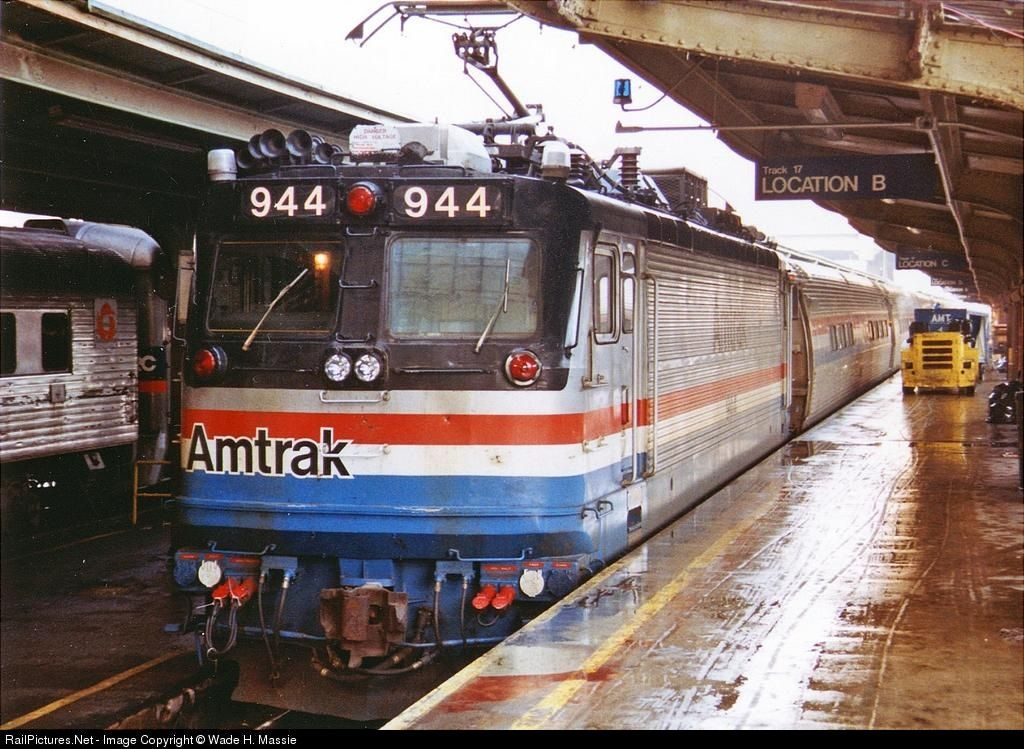 RailPictures.Net Photo: AMTK 944 Amtrak ASEA AEM-7 at Unknown, District of Columbia by Wade H. Massie