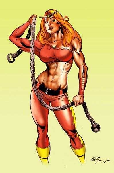 Thundra  The best Female Superheroes - Gen  Discussion