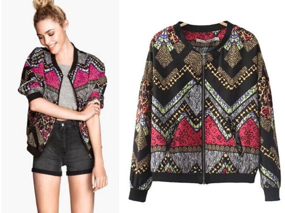 Bomber Jacket Women Print - JacketI | Stuff to buyff | Pinterest ...