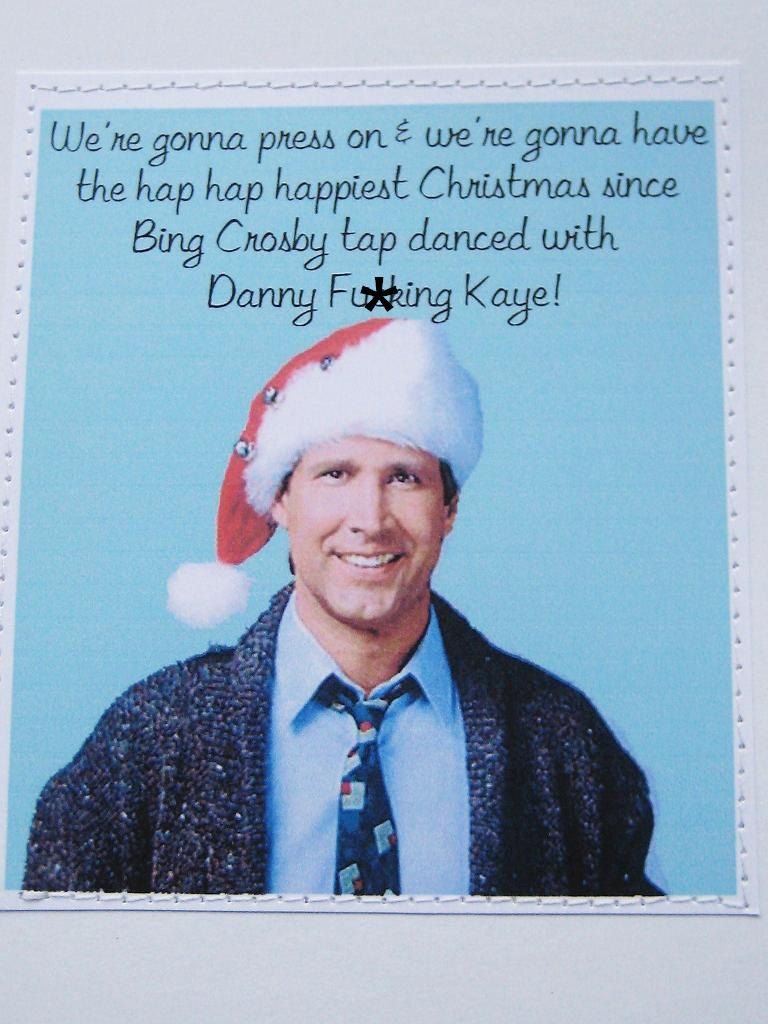 Amazing Mature Funny Christmas Vacation Movie Quote Card.. $6.00, Via Etsy.