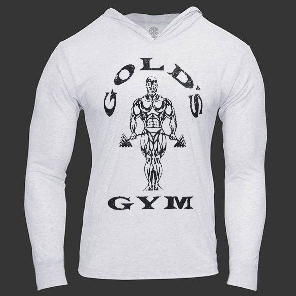 Hoodies Long Sleeve Bodybuilding Mens Golds Gyms Sweatshirts Workout Clothing