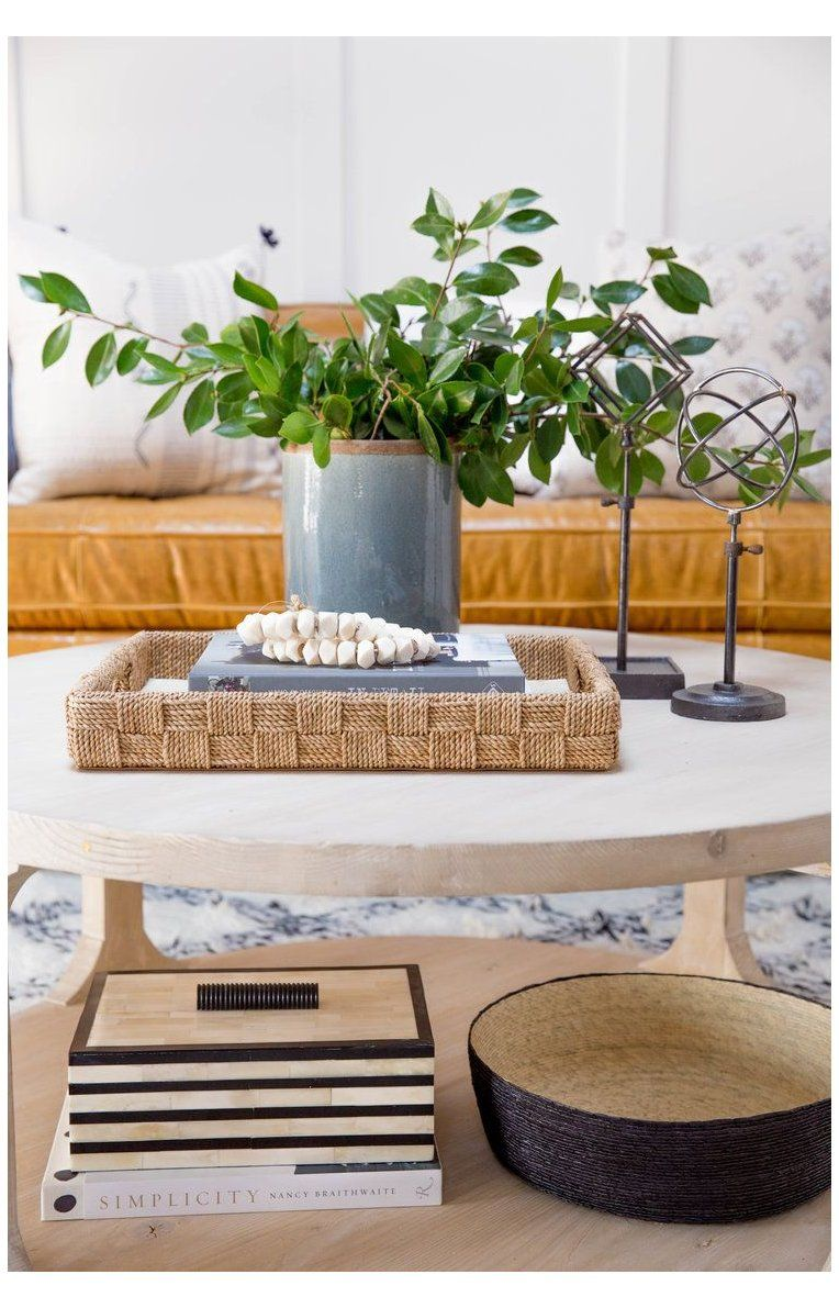 How To Style A Round Coffee Table Round Coffee Table Decor Ideas Trays See Our Tips And Round Coffee Table Decor Round Coffee Table Styling Coffee Table [ 1191 x 764 Pixel ]