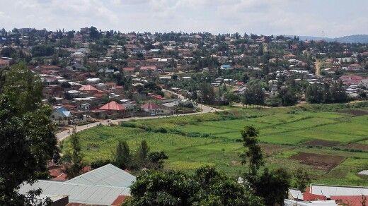 Residential area. Kigali