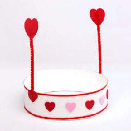 fun kids valentine hat craft - Valentines Preschool Crafts