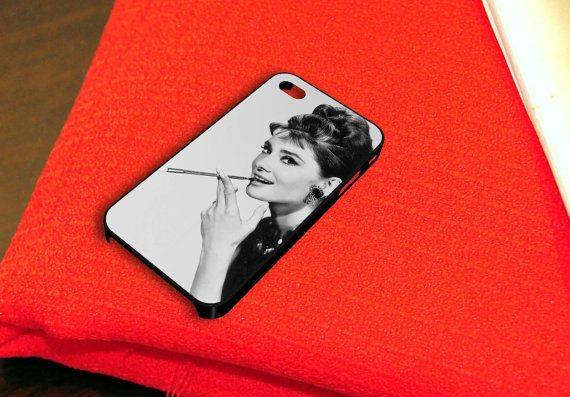 Audrey Hepburn Breakfast at Tiffany's iPhone 4 iPhone by caseboy, $15.79