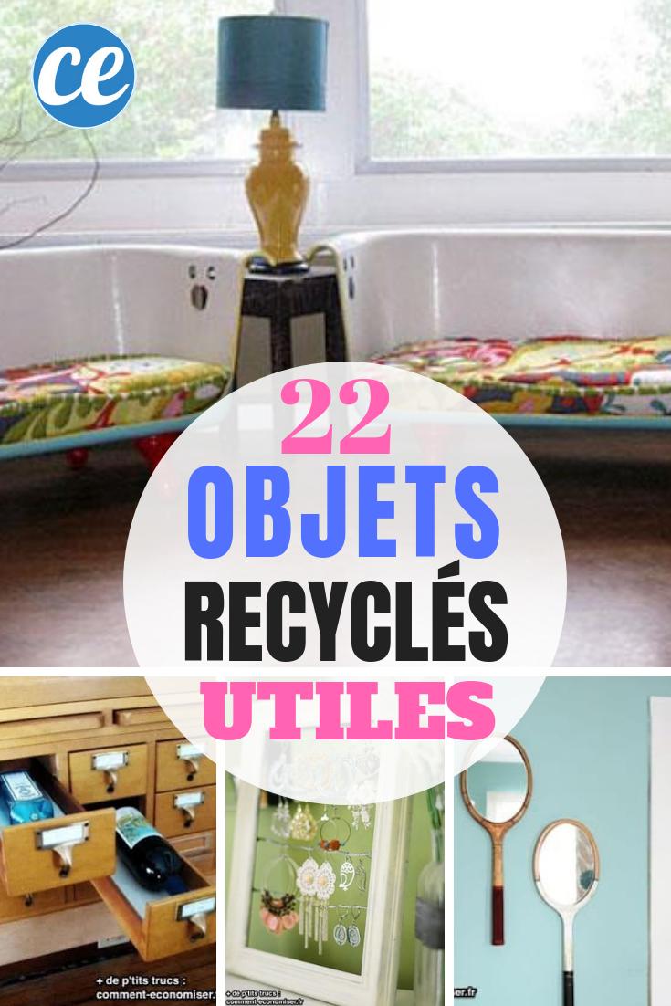 22 Objets Recycles Que Vous Aimeriez Bien Voir Chez Vous Seconde