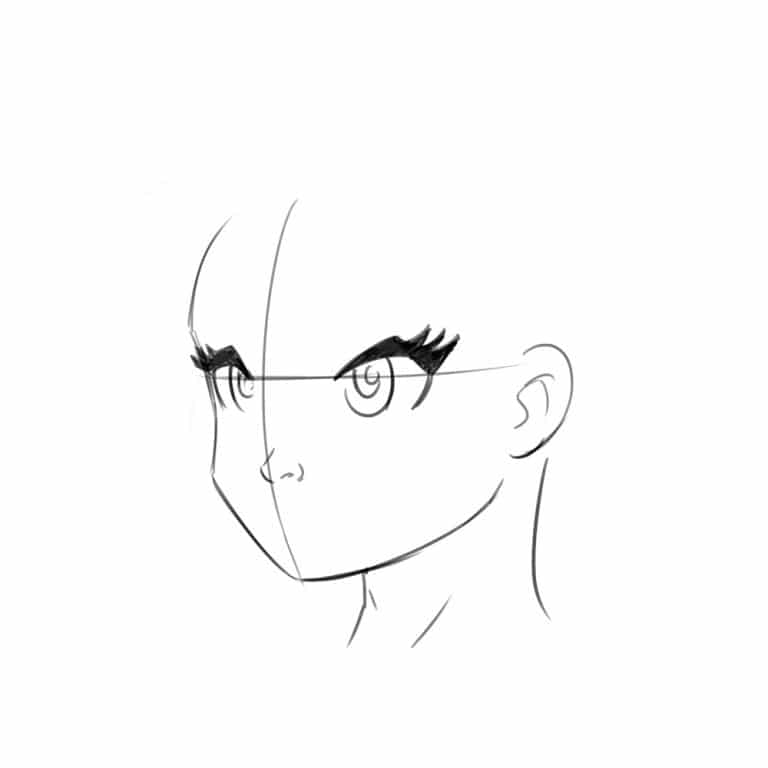 2 Ways To Draw An Anime Manga Face Front And 3 4 Views Improveyourdrawings Com In 2020 Drawings How To Make Drawing Draw