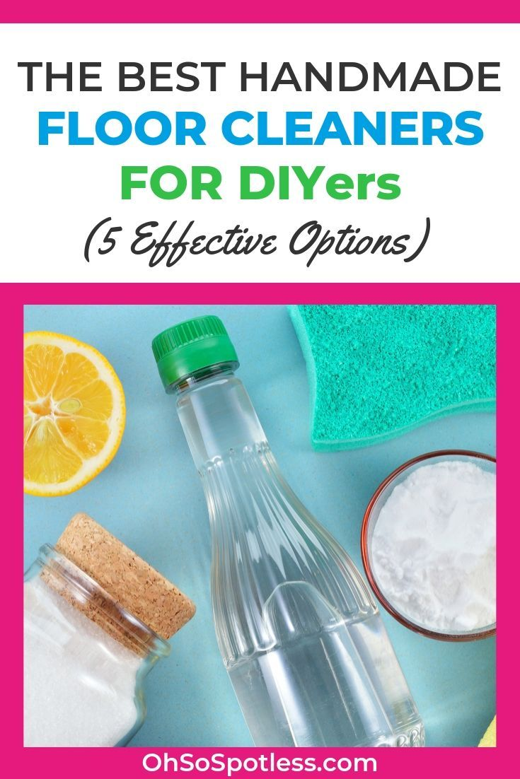 The Best Homemade Floor Cleaners for DIYers (5 Effective ...