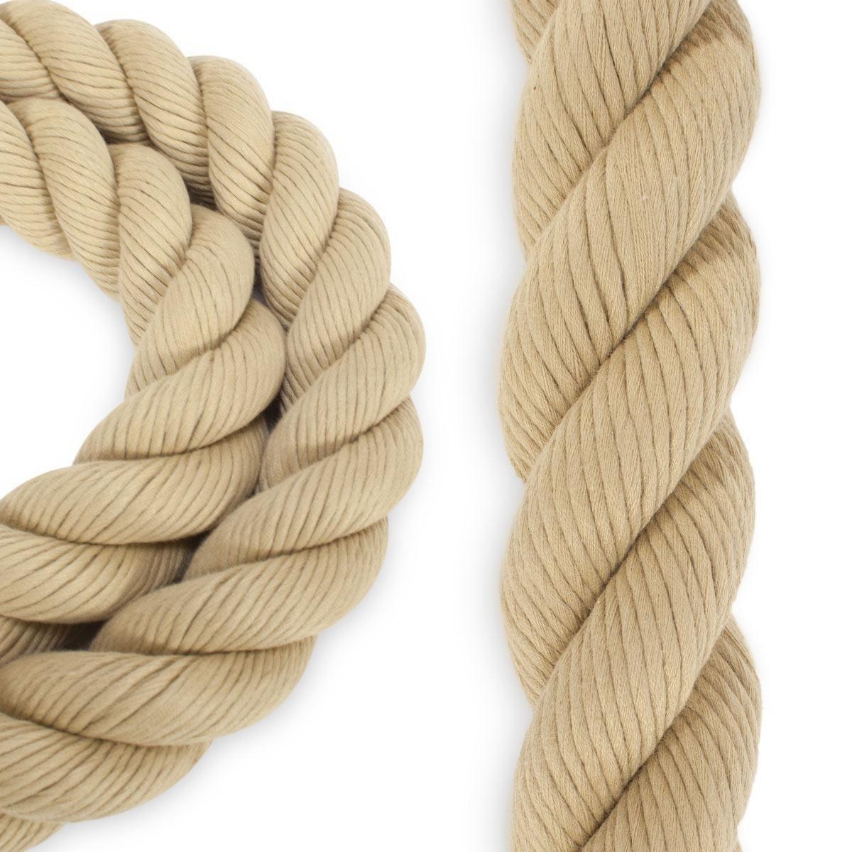 1 1 2 Polyester Combo Spun Fiber Tan In 2020 Rope Tan Manila Rope