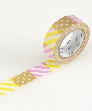 washi tape parches de colores
