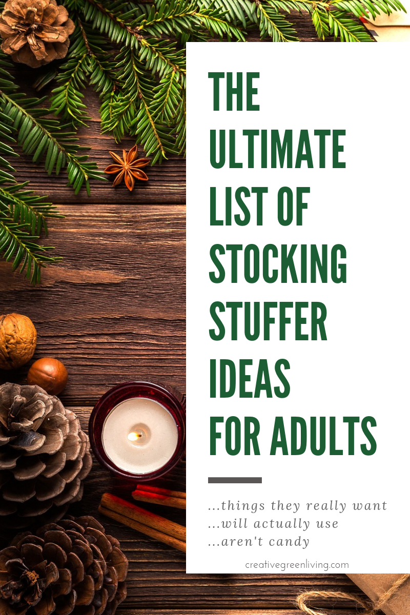these are some of the best stocking stuffer ideas ive seen for stuff people actually want lots of good ideas for men too all the ideas are things that