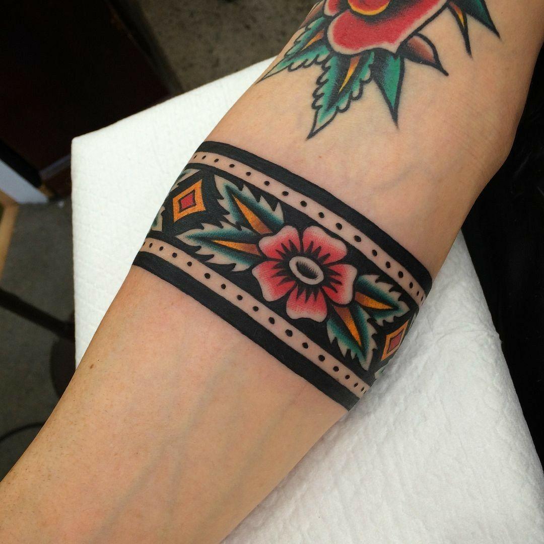 Tattoos image by Tara Thacker on Ink( Arm band tattoo
