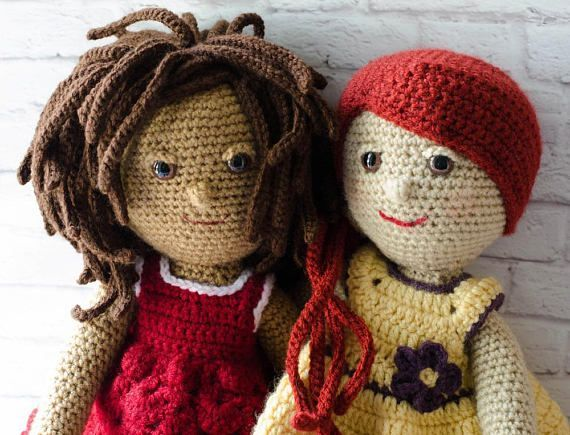 Love This Combo Pattern Pack Two Sweet Crochet Rag Doll Patterns I