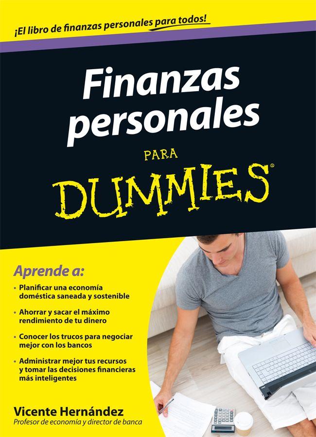 Finanzas personales para Dummies / Hernández, Vicente