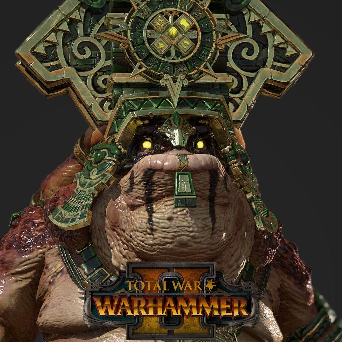 Total War: Warhammer 2 -Lord Mazdamundi, Matthew Davis on ArtStation at https://www.artstation.com/artwork/Xw81a