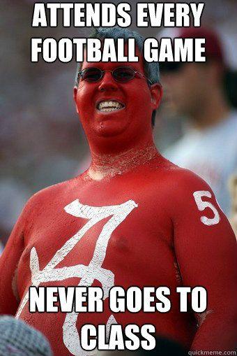 Funny Meme About Alabama Football