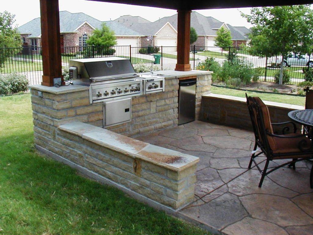18+ Backyard bbq area ideas info