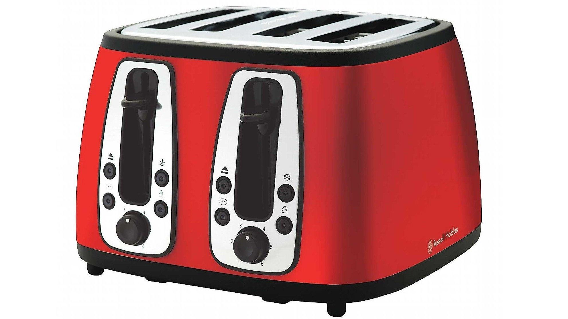 Russell Hobbs Metallic Red 4-Slice Toaster on the wishlist | The ...