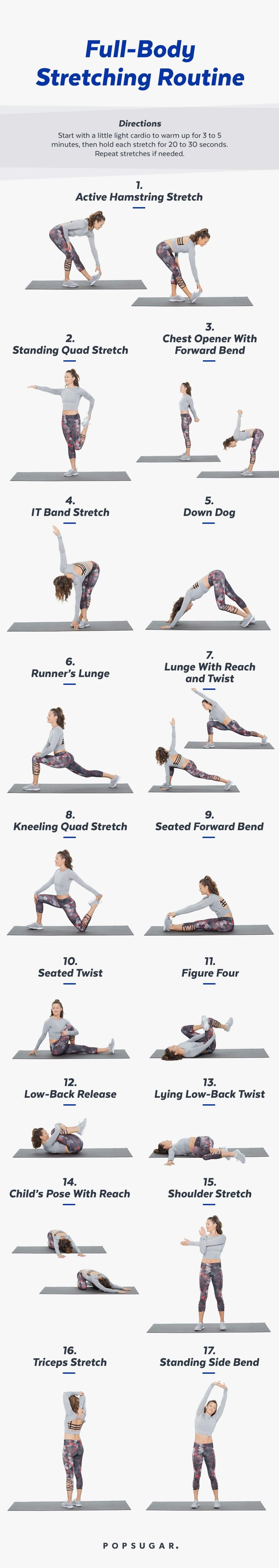 Stretch Recover Relax This Is How To Take Care Of Your Body