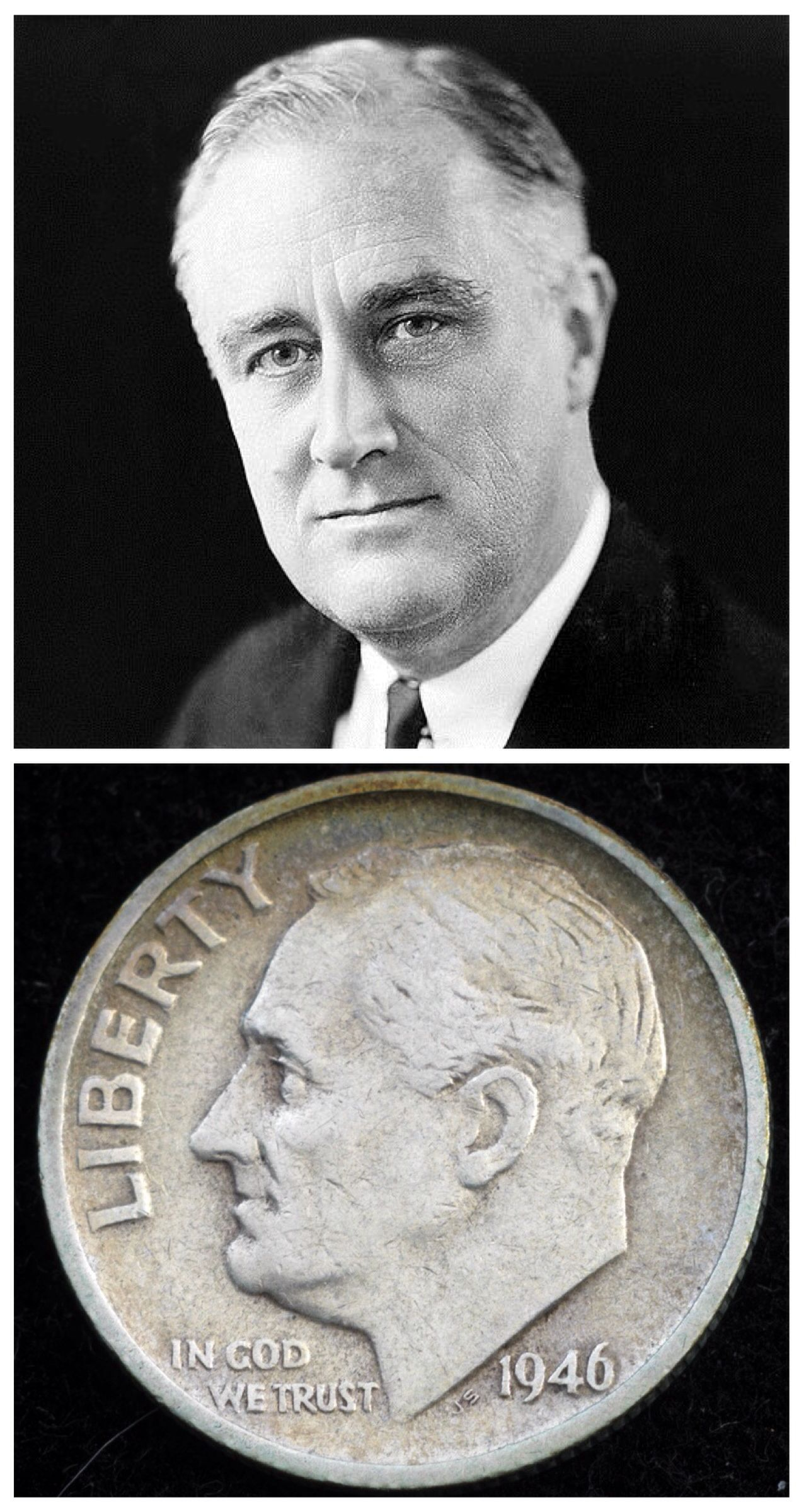 1938 - The March of Dimes is established by President ...