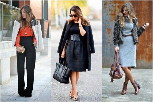 15 разнообразни идеи за офис стила ви - варианти с пола, рокля и панталон с висока талия. По нещо за всеки вкус.