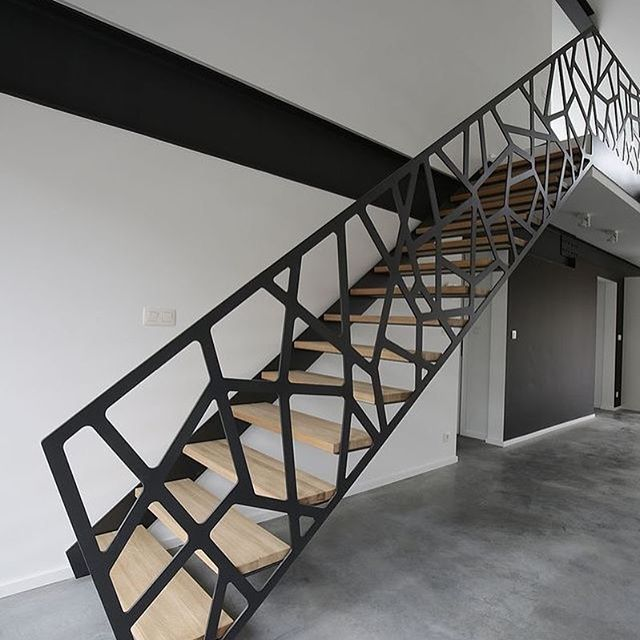 40 Amazing Staircases Details That Will Inspire You: Some Abstract Stair Powered By: Jeff Things ...repinned