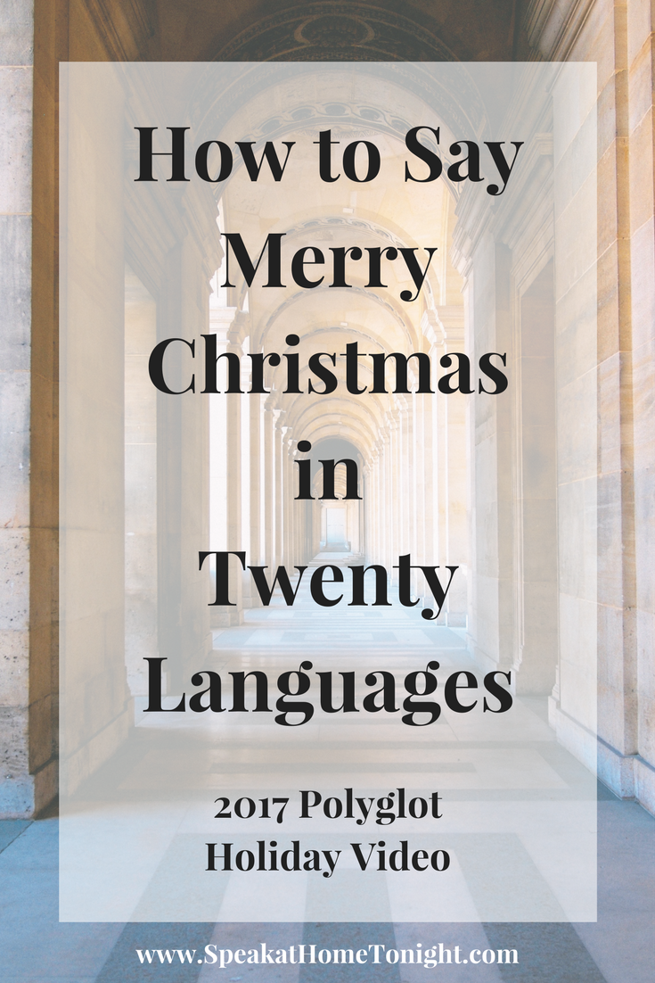 How Do You Say Merry Christmas In German.Merry Christmas In Multiple Languages How To Say Merry