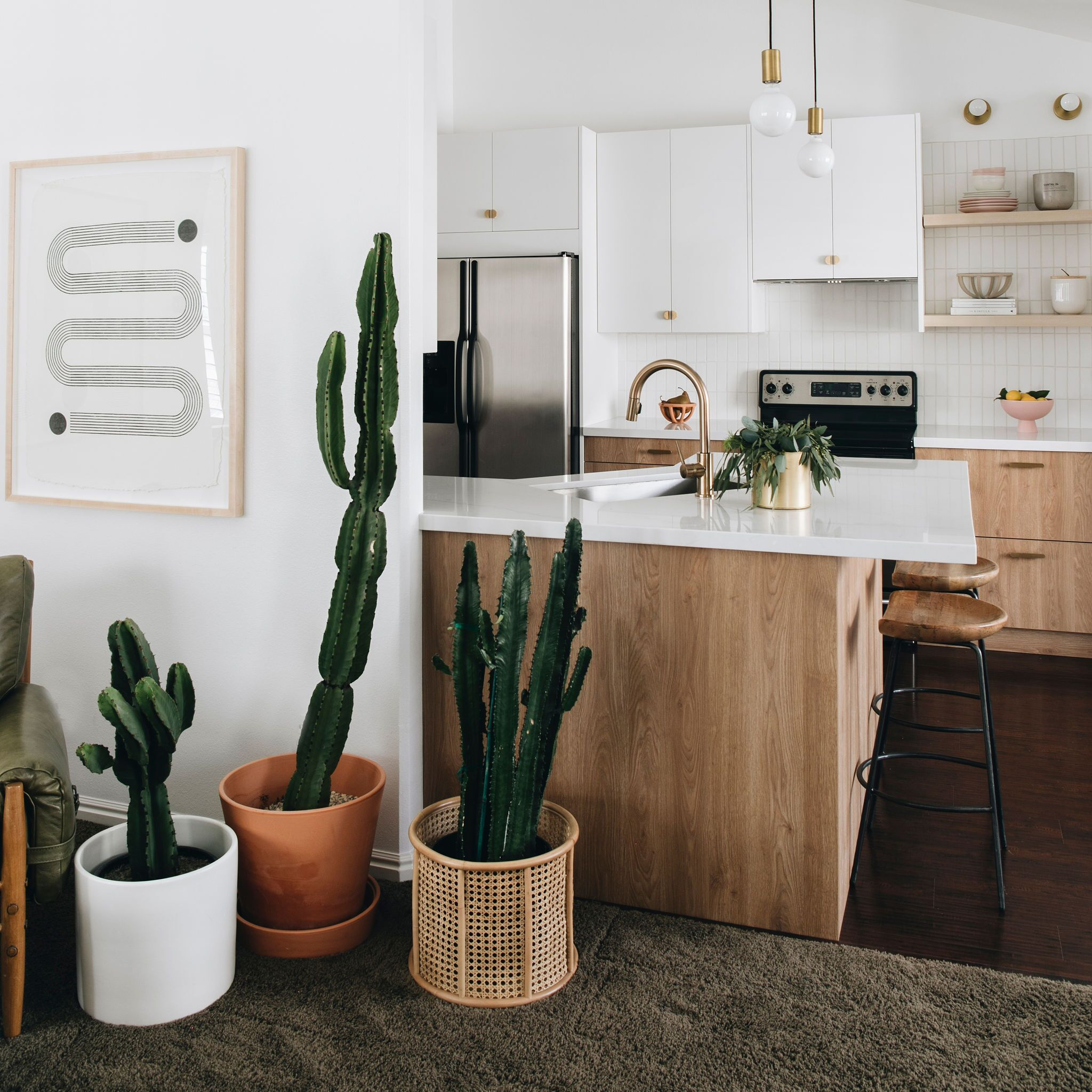 Hardware Apartments Salt Lake City: Gorgeous Kitchen Reno With A Minimalist Aesthetic In 2020