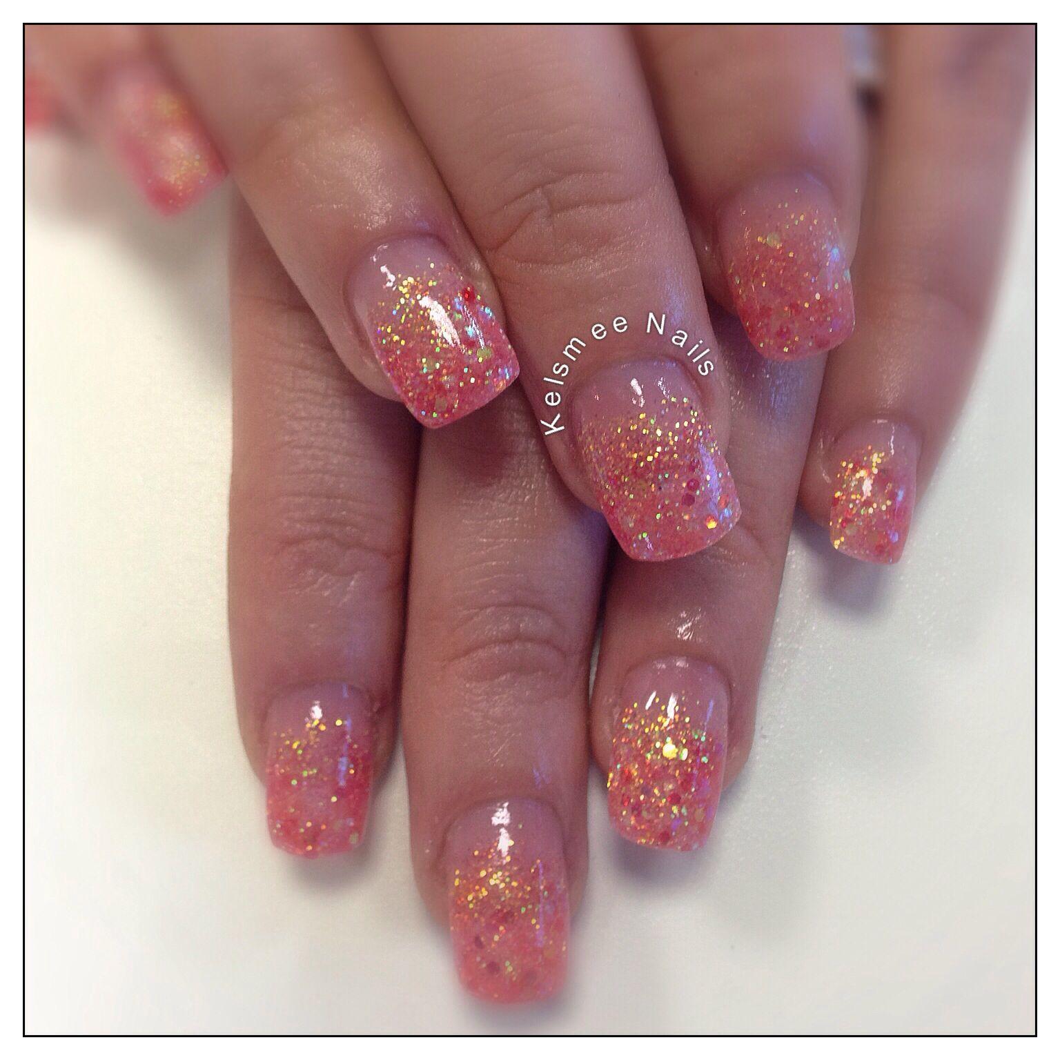 Young Nails acrylic glitternails | Re-Pin Nail Exchange | Pinterest ...