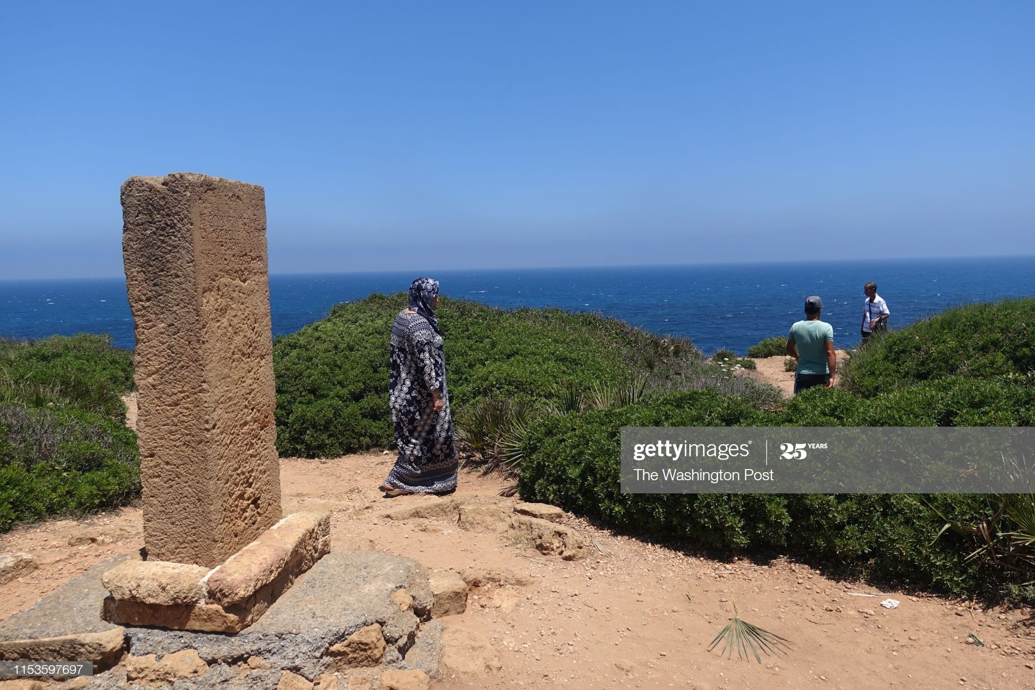 News Photo : A stone was erected in Tipaza to celebrate Albert...