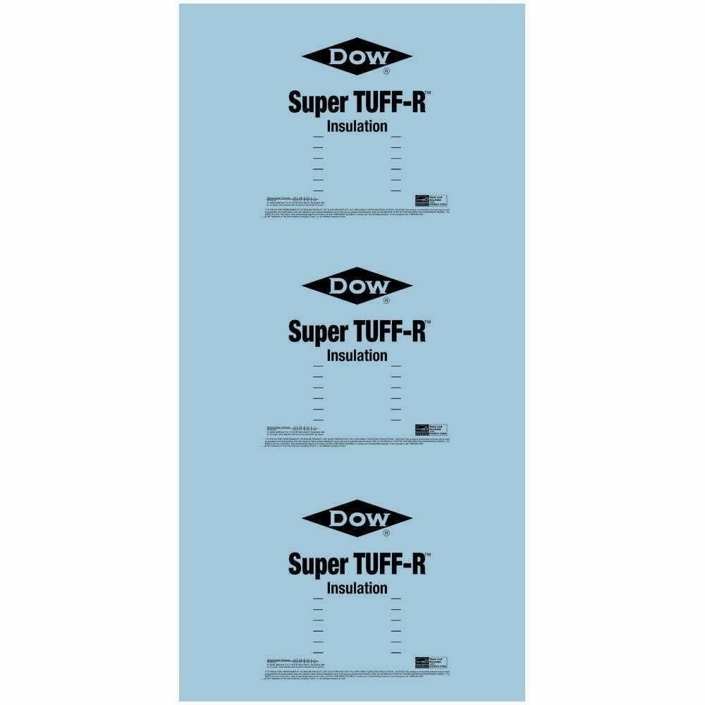 Super Tuff R 1 2 In X 4 Ft X 8 Ft R 3 3 Foam Insulation 268413 The Home Depot Foam Insulation Board Foam Insulation Rigid Foam Insulation