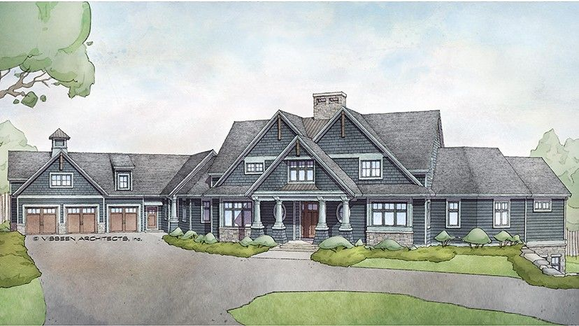 Floor Plan AFLFPW488 488 Story Home Design With 488 BRs And 48 Baths Delectable Floor Plans For 5 Bedroom Homes Painting