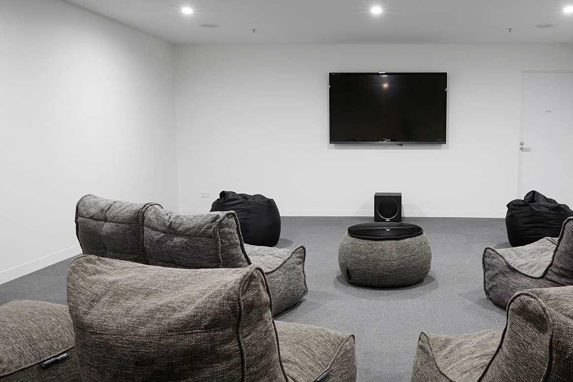 Бескаркасная мебель Ambient Lounge для Вашего домашнего кинотеатра ...