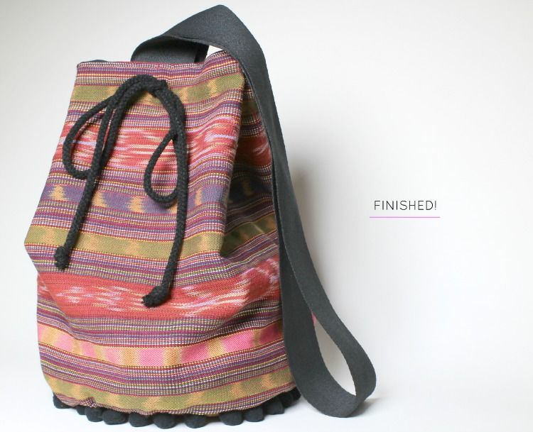 Maycie After Five Diy How To Make A Bucket Bag Maybe With Two
