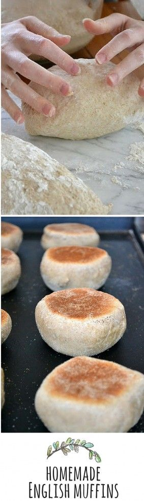 Make your own big fat puffy English muffins!