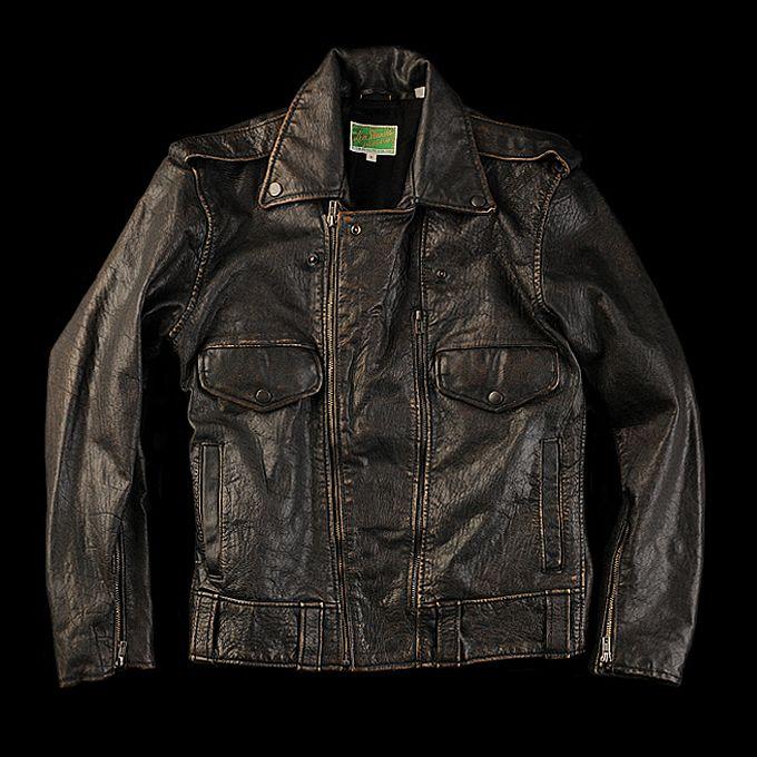 Levi's Leather Men's Vintage Coats JacketLeathers Biker 54S3RjqcAL