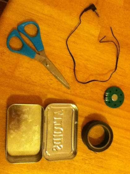 how to make an altoid tin speaker
