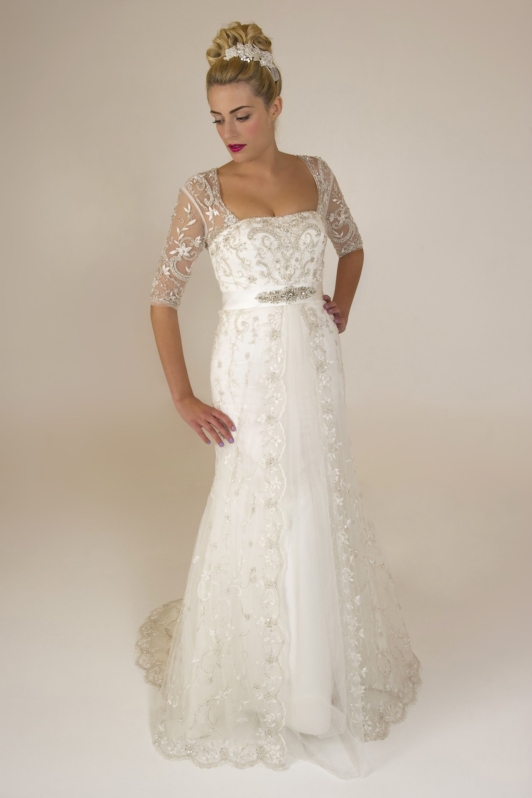 Anya Brides by Harvee vintage bridal gown Wedding