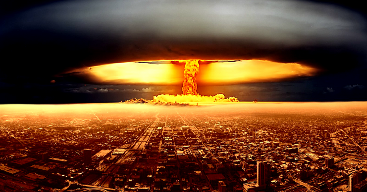 Surveys Were Conducted In 2017 By The United States And It Turned Out That The Next Nuclear War Will Happen As Nuclear War Nuclear Bomb Atomic Bomb Explosion
